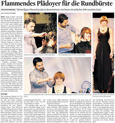 Presse 2014: Flammendes Plädoyer für die Rundbürste