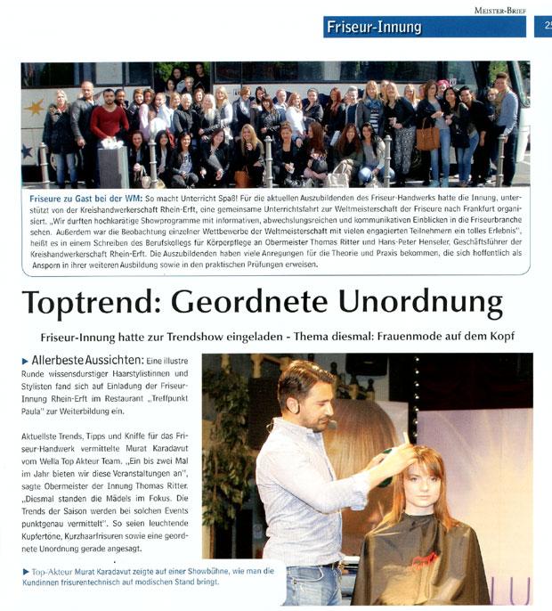Presse 2014: Toptrend Geordnete Unordnung